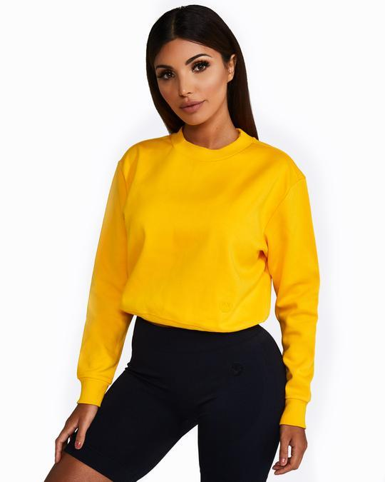 Nicky Kay ImSoFierce Sweatshirt - Yellow