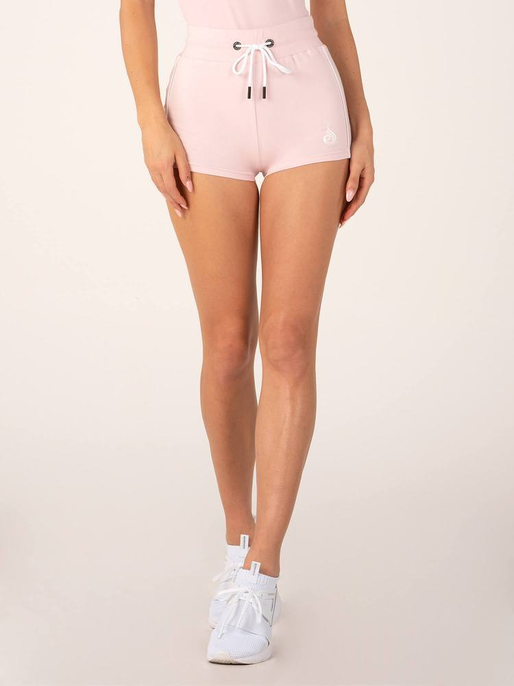 Ryderwear BSX High Waisted Shorts - Baby Pink