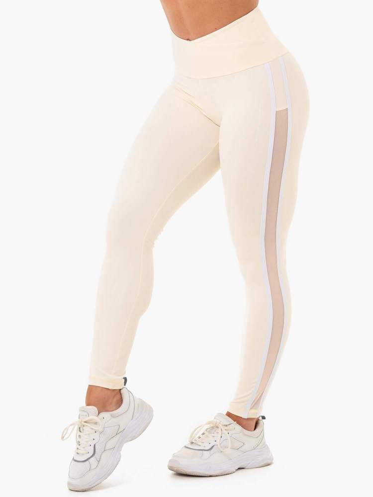 Ryderwear Collide High Waisted Leggings - Butter