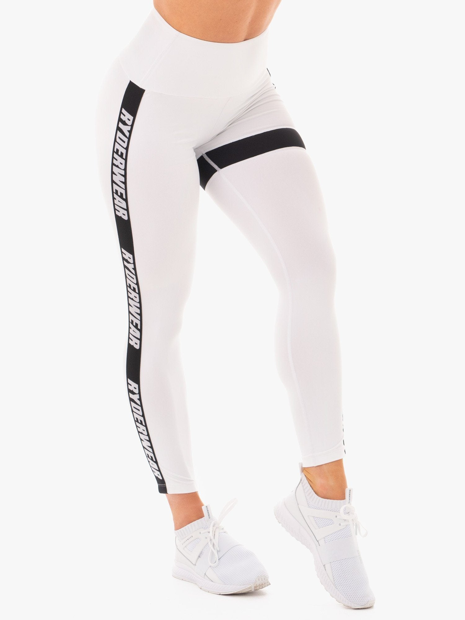 Ryderwear Courtside Scrunch Leggings - White