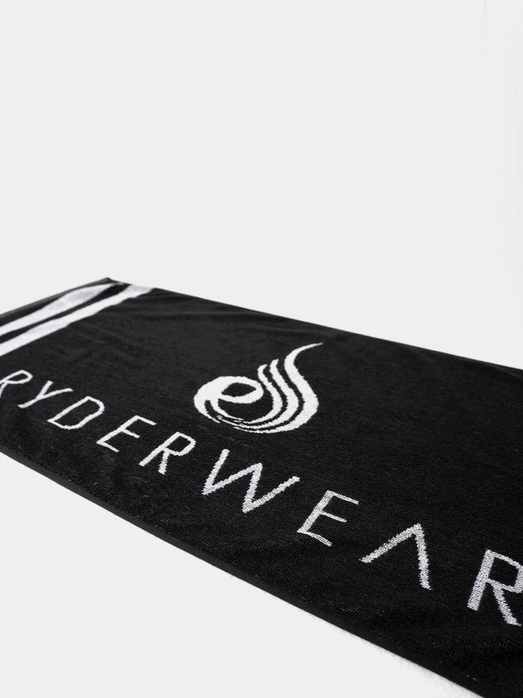 Ryderwear Gym Towel-Black