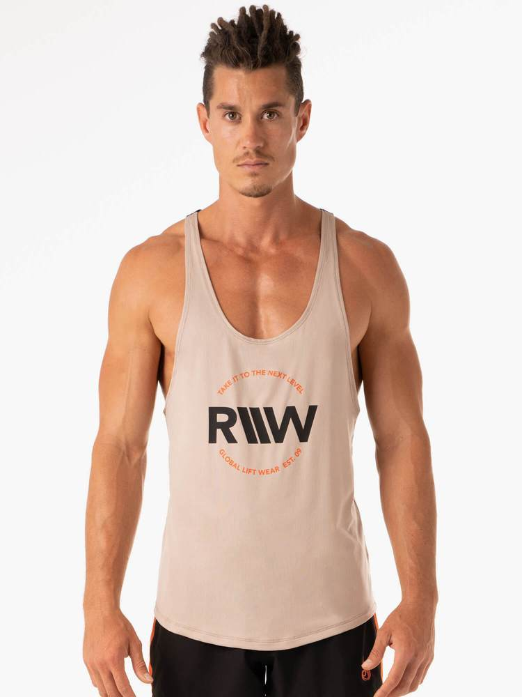 Ryderwear Palm Stringer T-Back - Tan