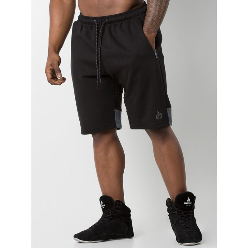 Ryderwear Power Track Shorts - Black/Charcoal