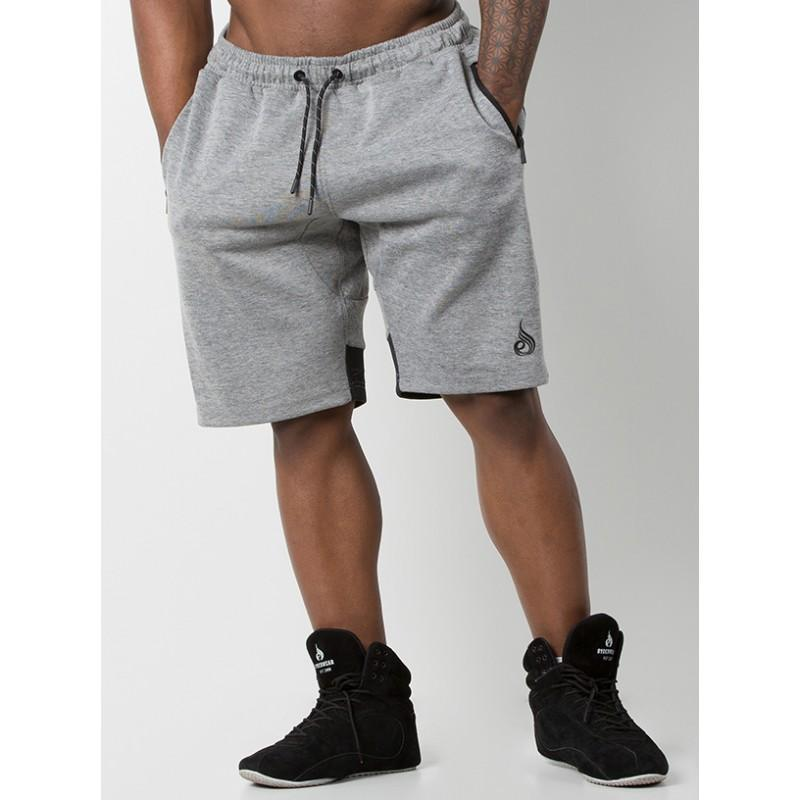 Ryderwear Power Track Shorts - Grey/Black