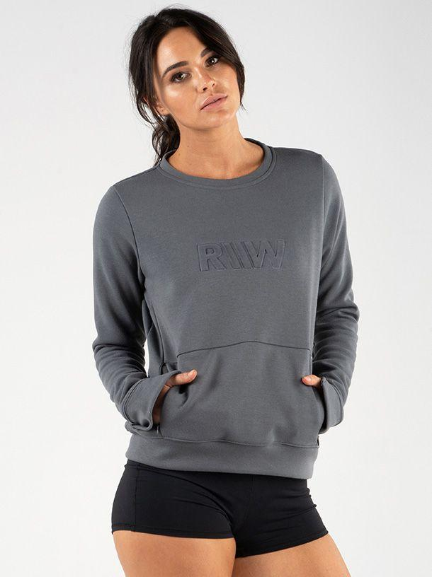 Ryderwear Raise Crew Neck - Charcoal