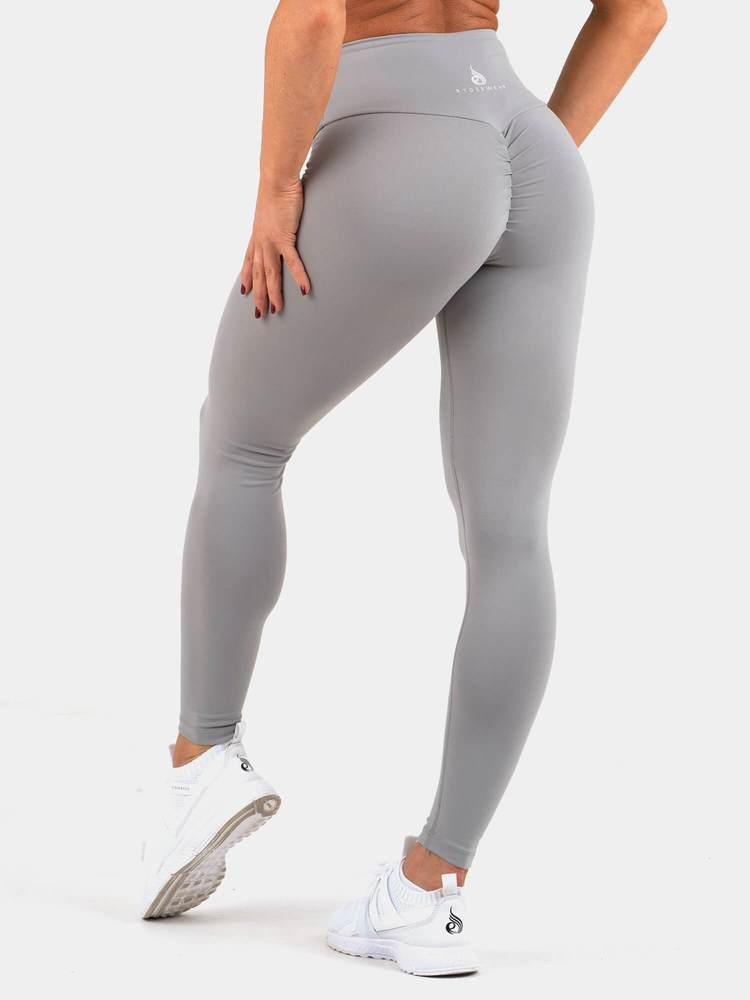 Rydewear Instinct Scrunch Bum Leggings - Grey