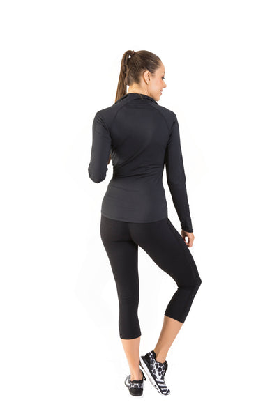 Sport Lé Moda Lightweight Jacket - Black