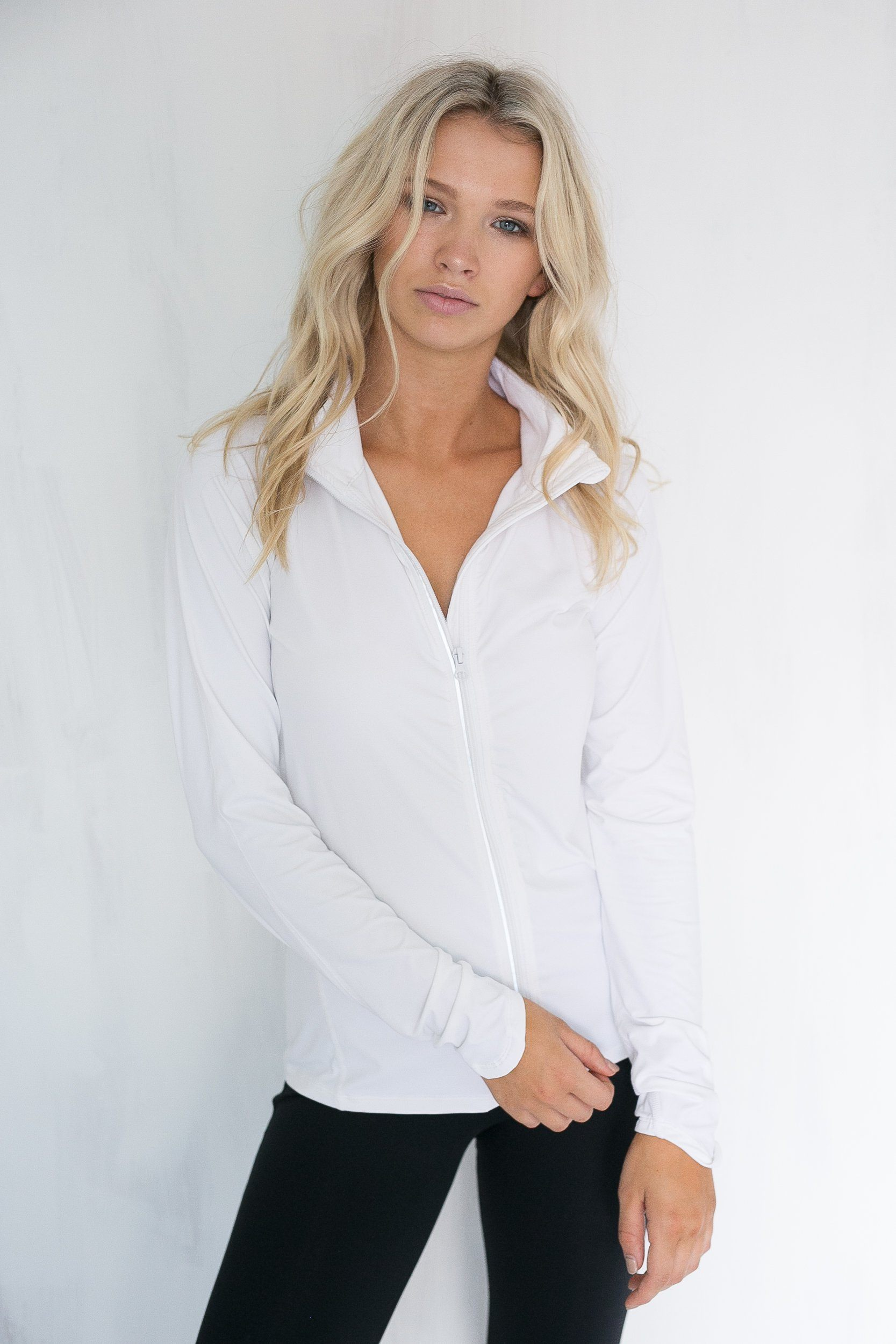 Sport Lé Moda Lightweight Jacket - White
