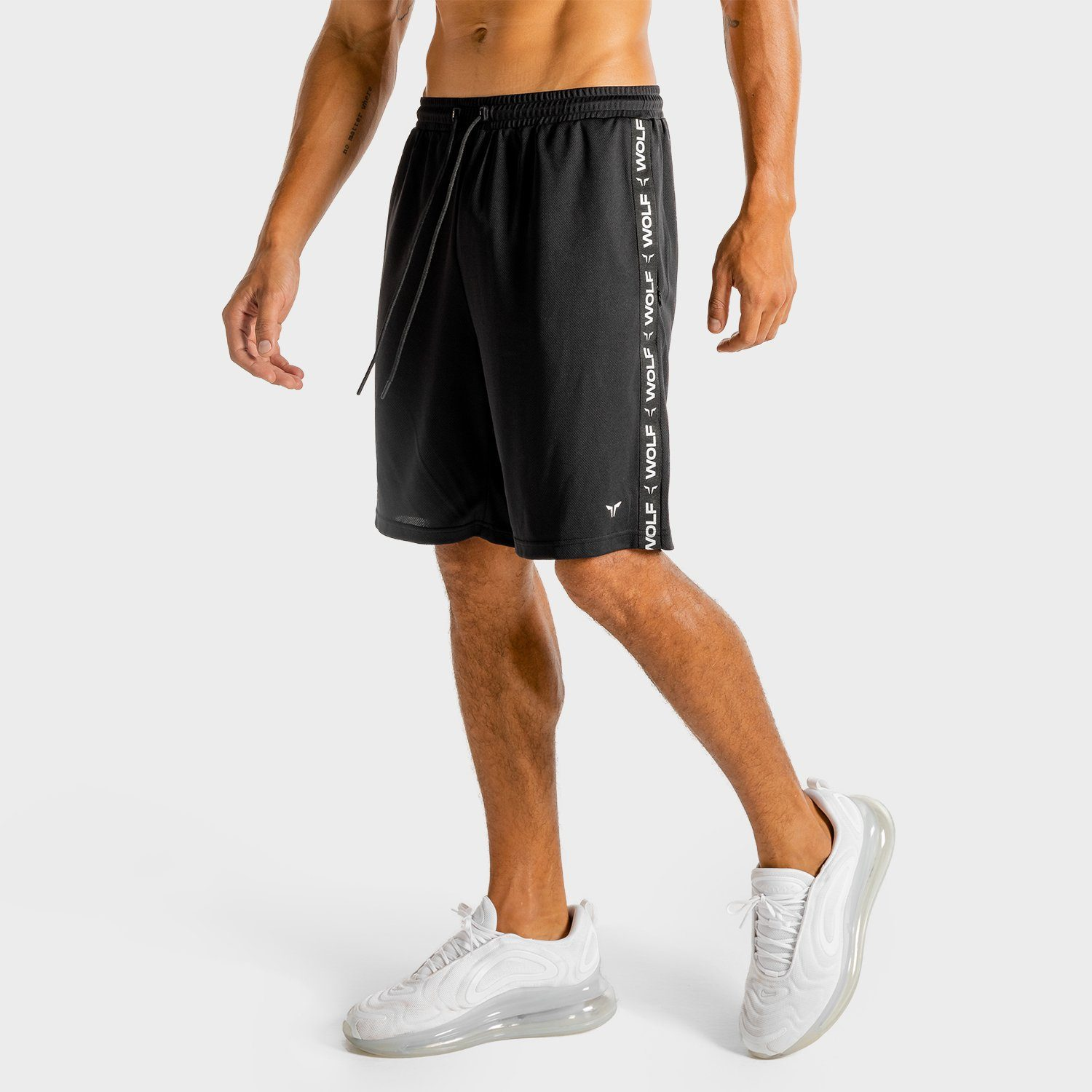Squat Wolf Core Basketball Shorts- Onyx