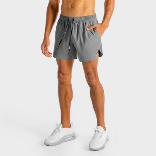 Squat Wolf Core Training Shorts- Grey