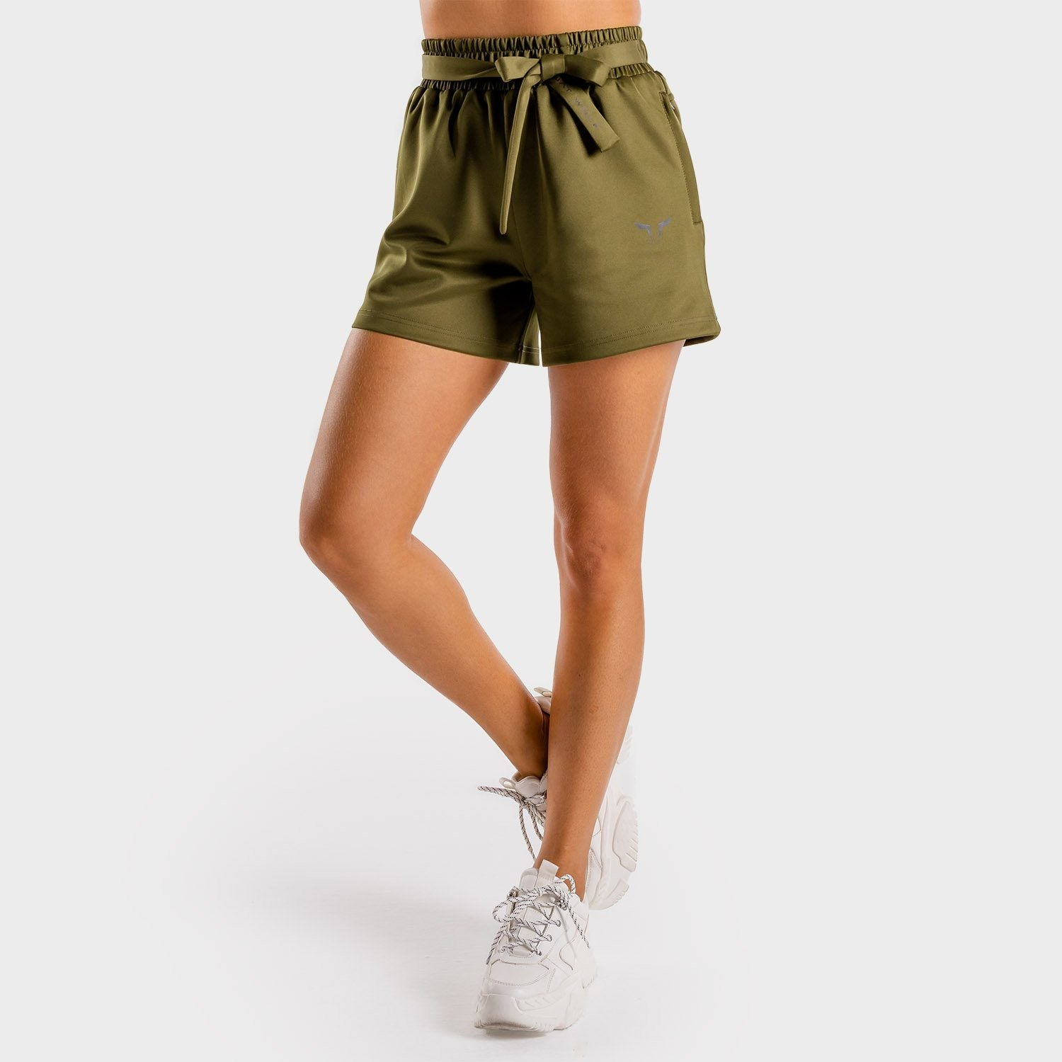 Squat Wolf Do-Knot Shorts – Khaki