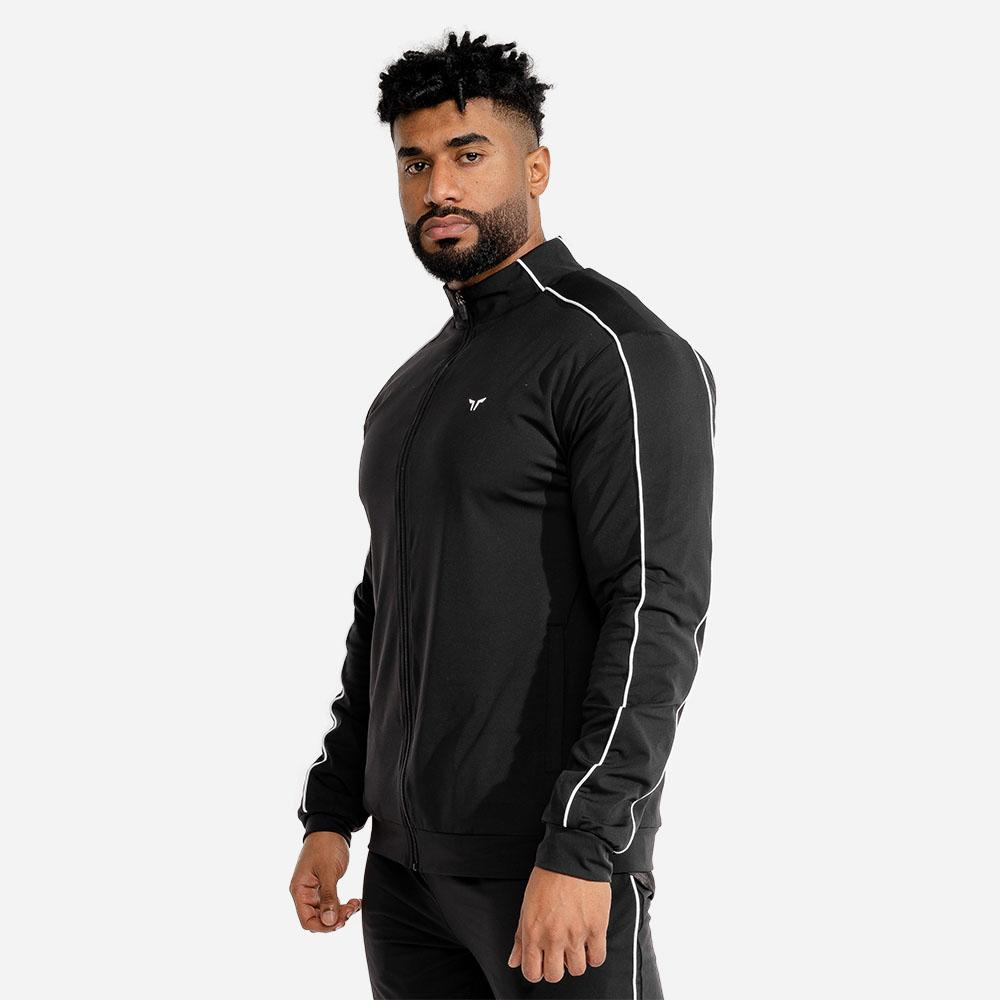 Squat Wolf Evolve Track Jacket - Black