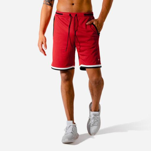 Squat Wolf Hype Basketball Shorts - Red