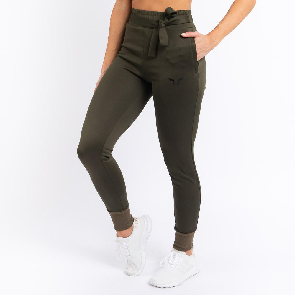 Squat Wolf Knot Joggers - Olive*