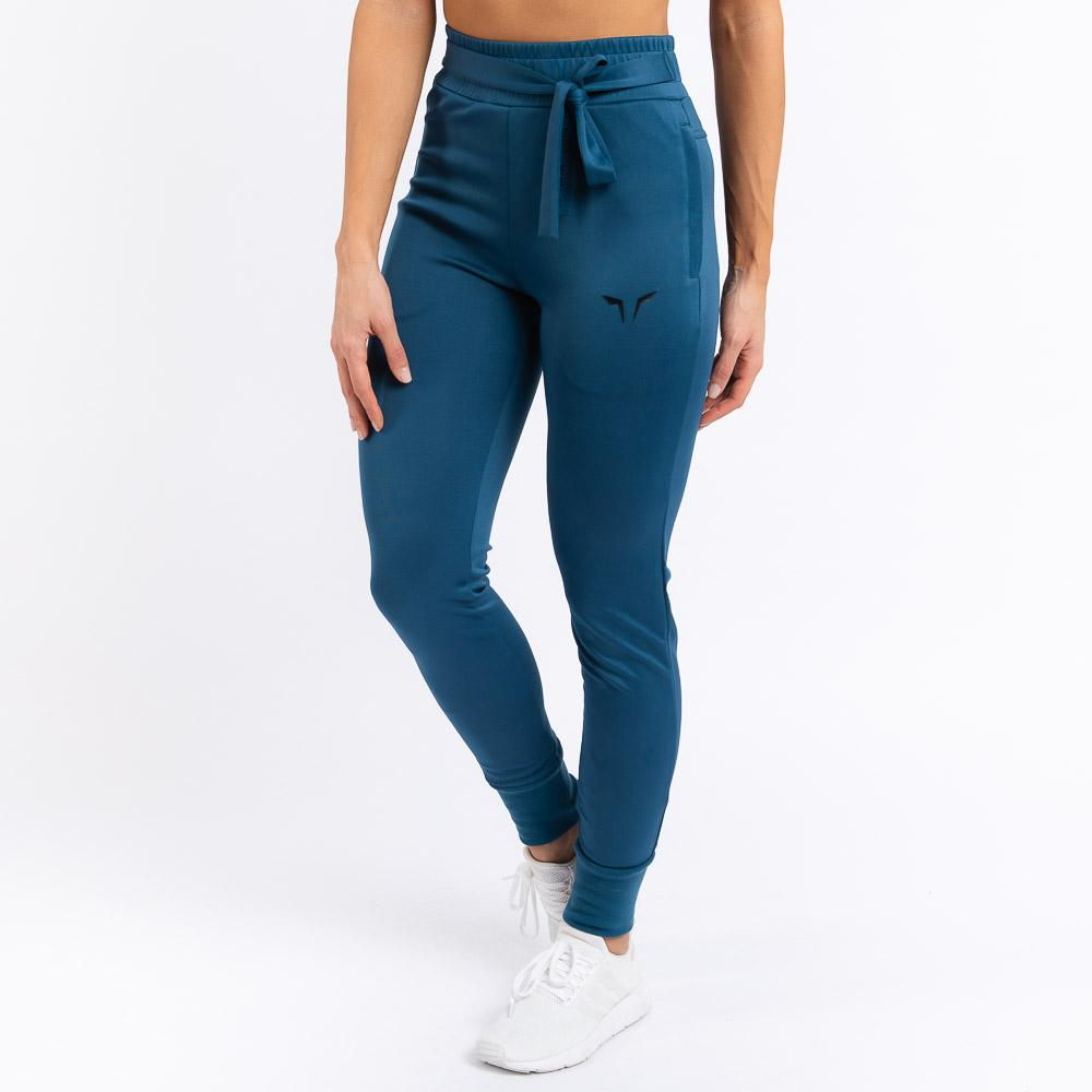Squat Wolf Knot Joggers - Teal