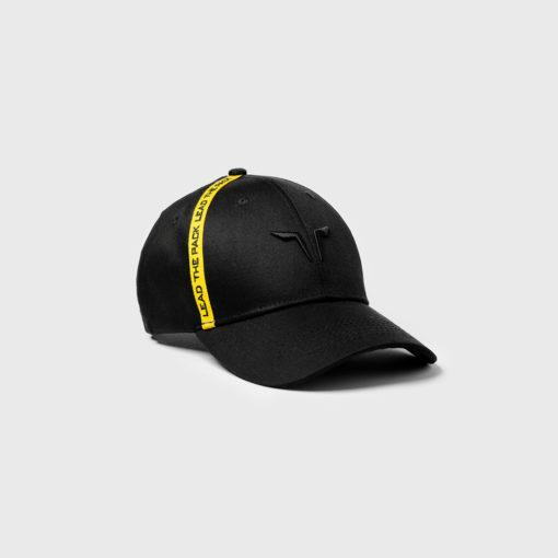 Squat Wolf Lead The Pack Cap - Black