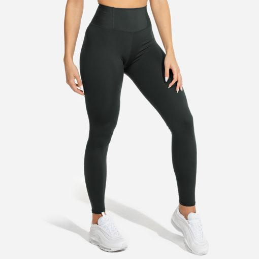 Squat Wolf Limitless Plush Leggings - Petrol Blue
