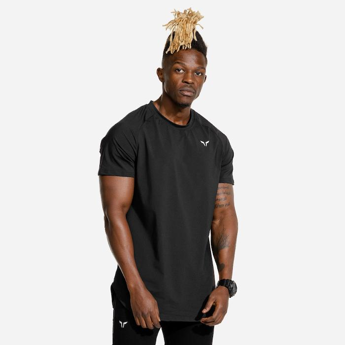 Squat Wolf Limitless Razor Tee - Black