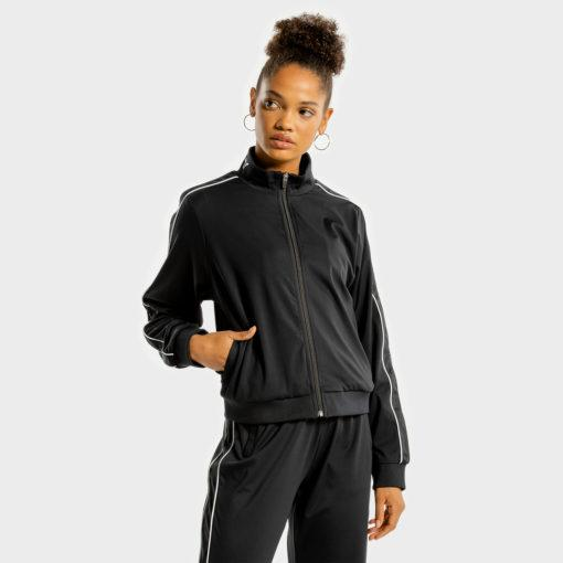 Squat Wolf Noor Track Top - Onyx