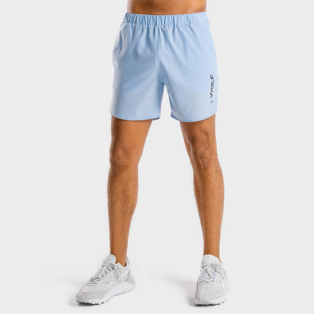 Squat Wolf Primal Shorts - Ice Blue