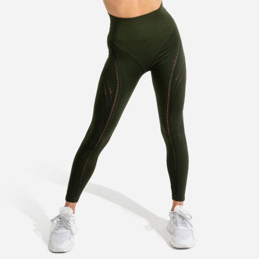 Squat Wolf Ultra Seamless Leggings - Khaki