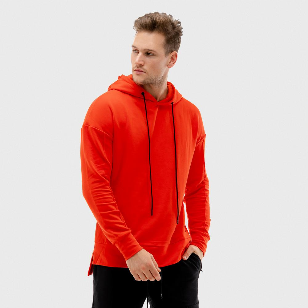 Squat Wolf Vibe Hoodie - Blood Orange