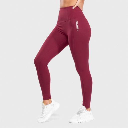 Squat Wolf Warrior High-Waisted Leggings - Brave