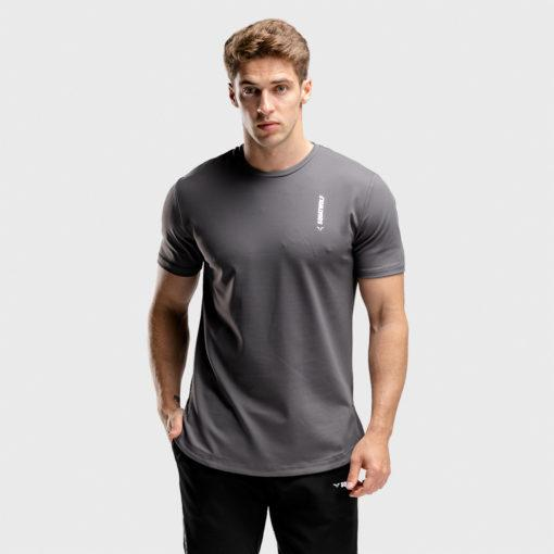 Squat Wolf Warrior Tee - Grey