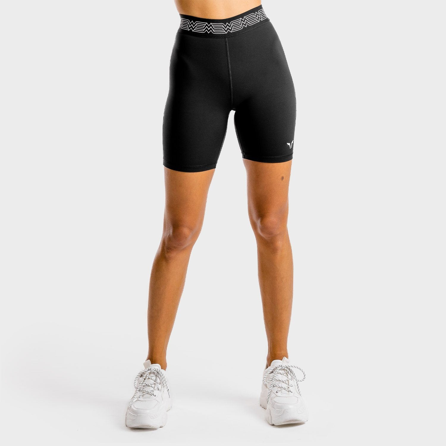Squat Wolf Wonder Woman Cycling Shorts – Onyx