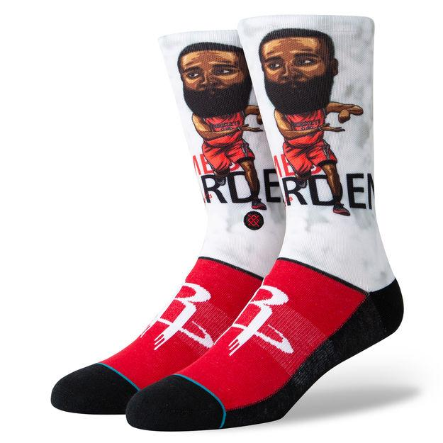 Stance Big Head Basketball Socks - Harden