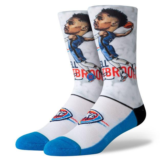 Stance Big Head Basketball Socks - Westbrook
