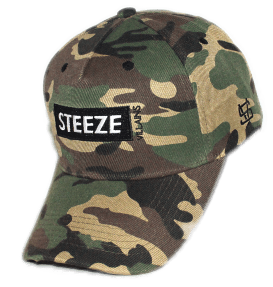 Steeze Villains Cognac A-Frame Cap - Camo