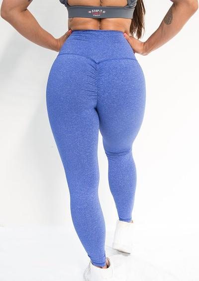 Stop It I Like It Scrunch Leggings - Cookie Monster