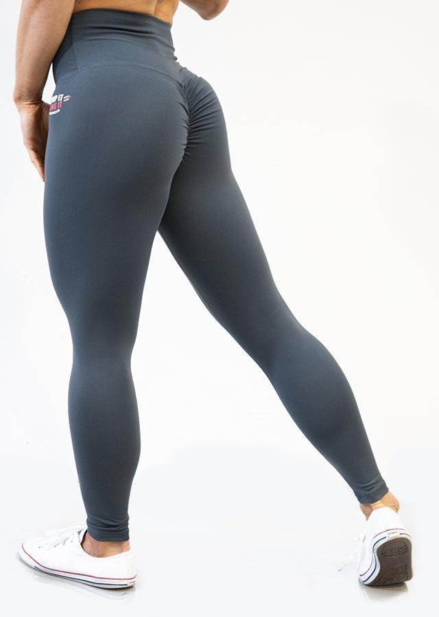 Stop It I Like It Scrunch Leggings - Orca
