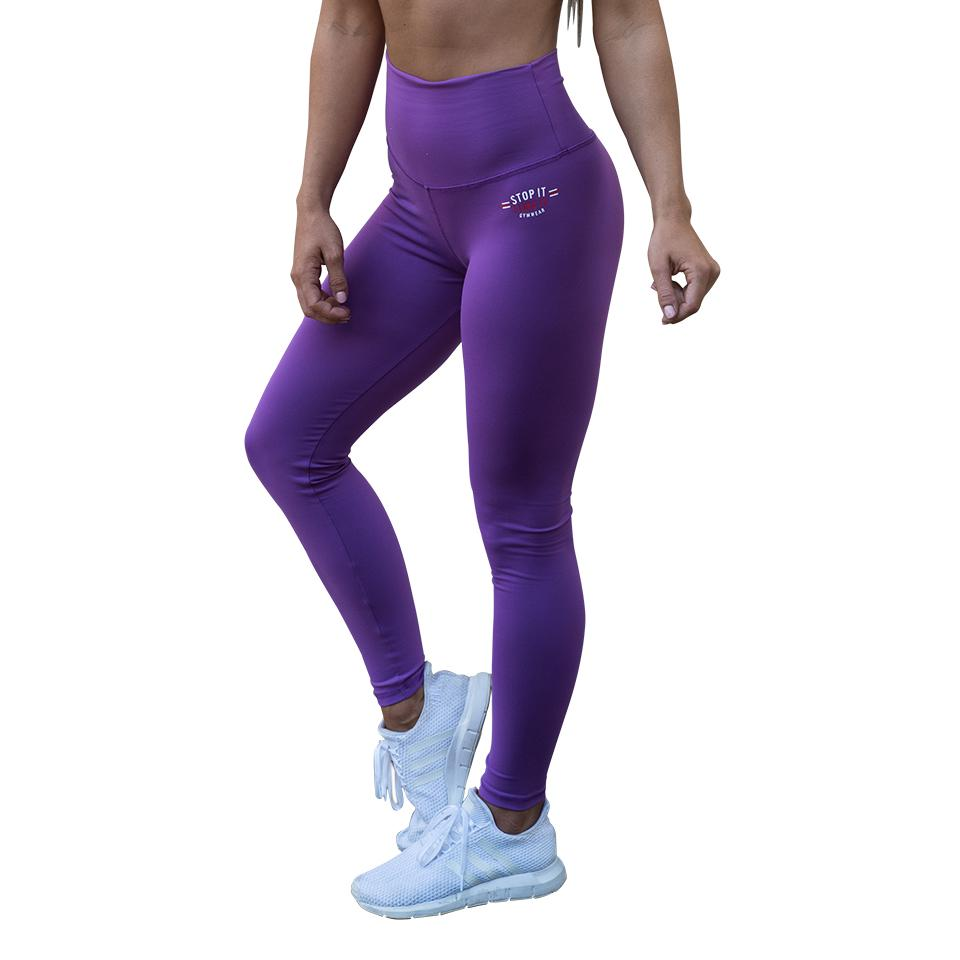 Stop It I Like It Scrunch Leggings - Purple Rain