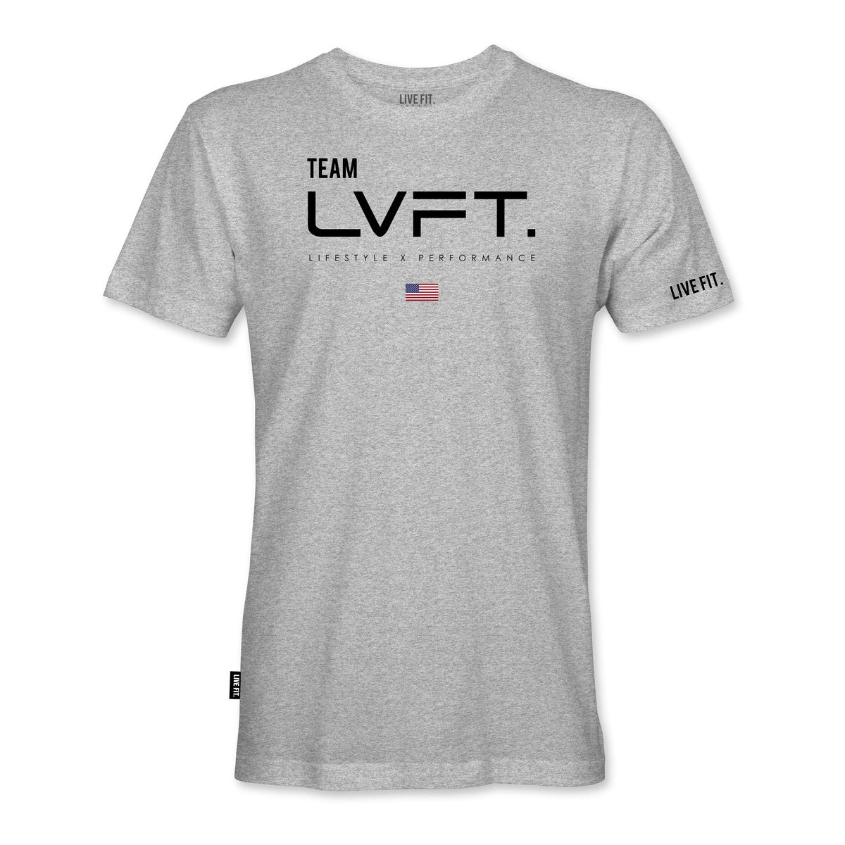 Team LVFT Tee- Heather Grey