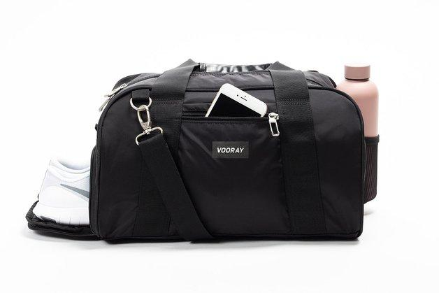Vooray Burner Gym Duffel - Black Nylon