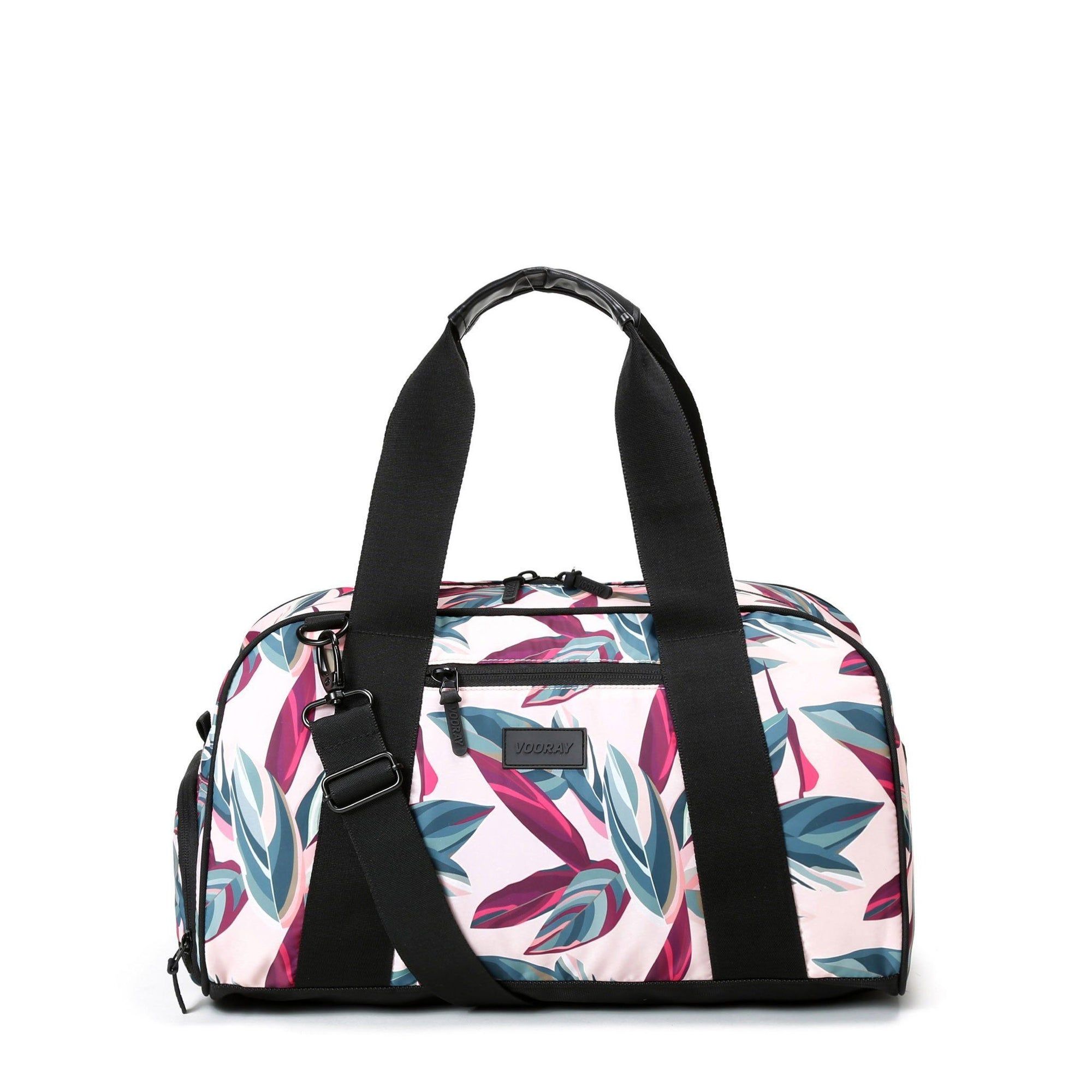 Vooray Burner Gym Duffel-Botanic Pink