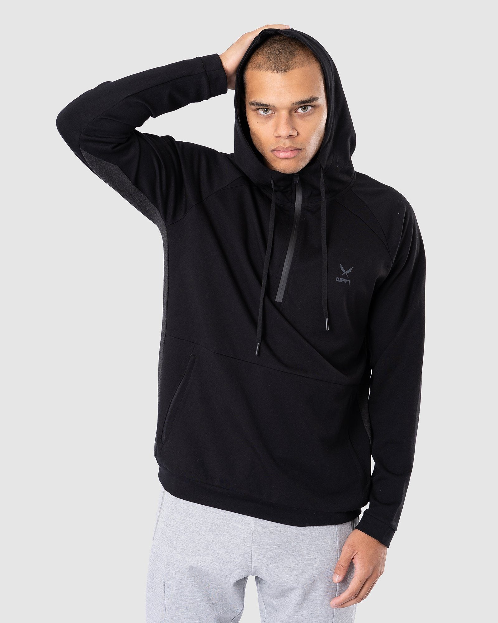 WPN Wear Trace Fleece Wind-Runner Full Zip - Black