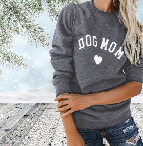 Dog Mom Cozy Sweatshirt