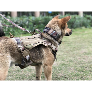 NEW Tactical No-Choke Dog Harness Service Vest With Top Handle