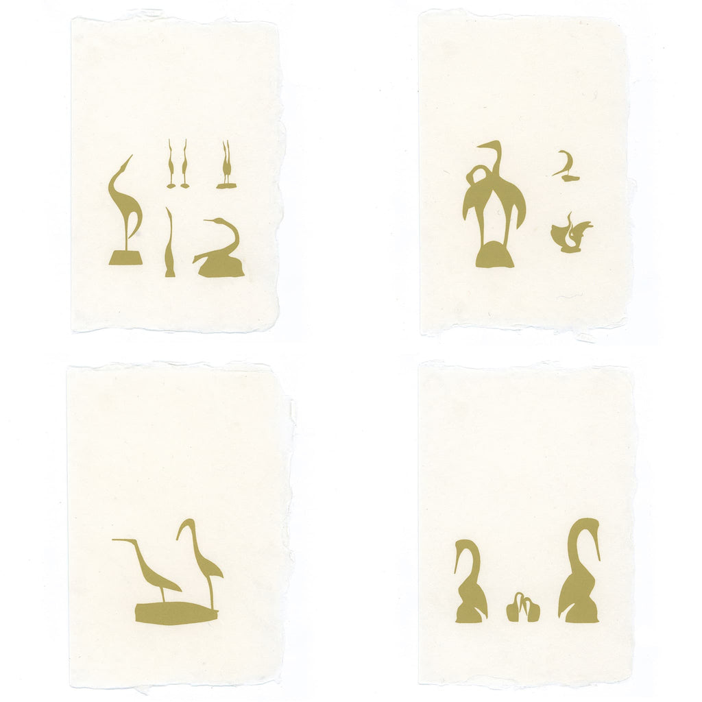 Cranes Staionery | Set of 8