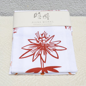 Lotus Tea Towels // 2 Pack