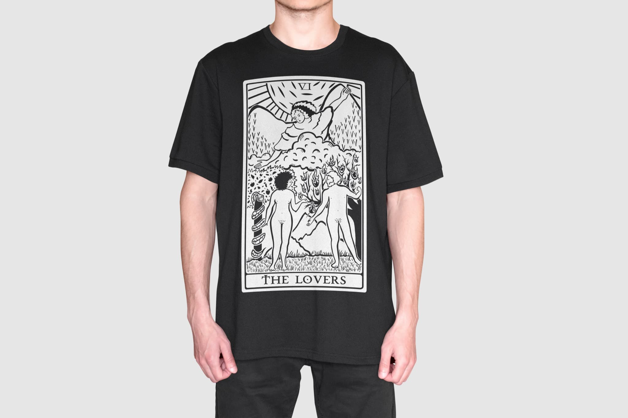 The Lovers - Tarot Shirt