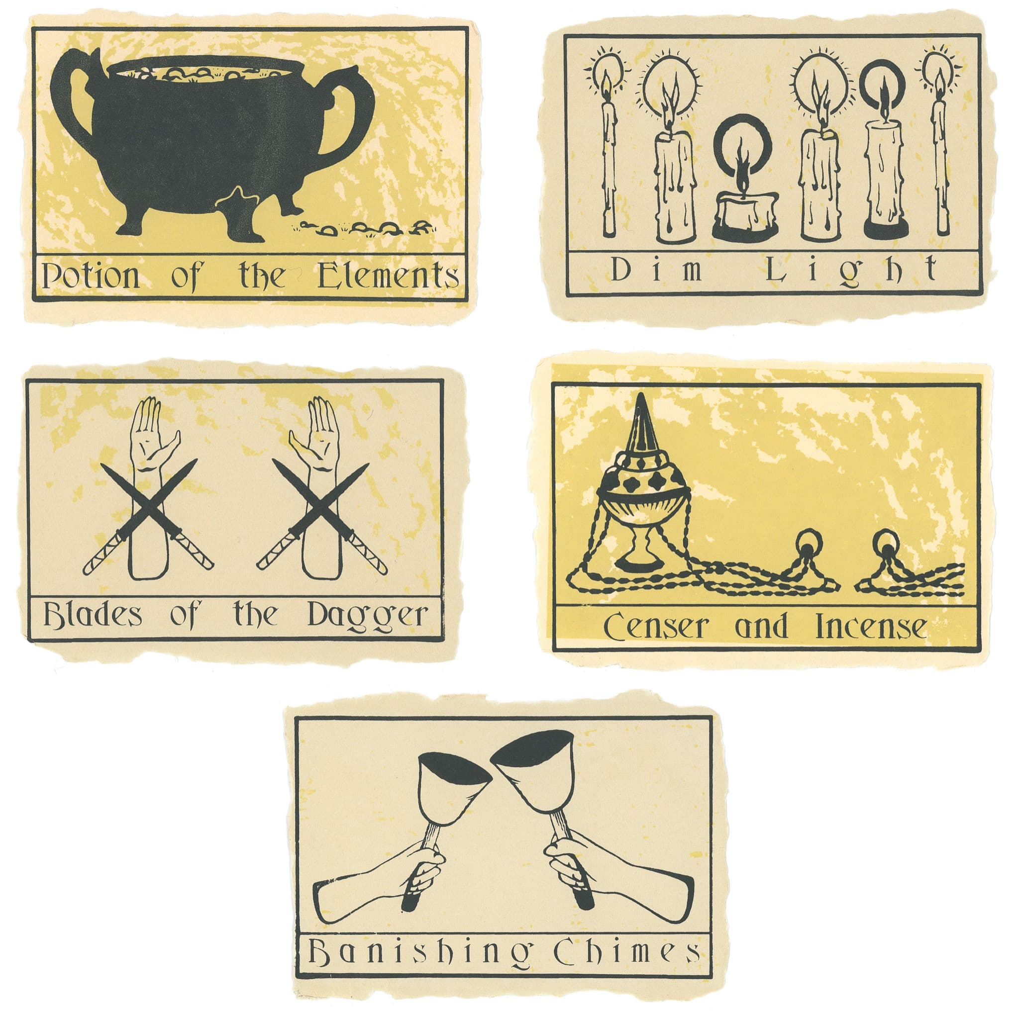 Tools of Tarot II | Set of 5