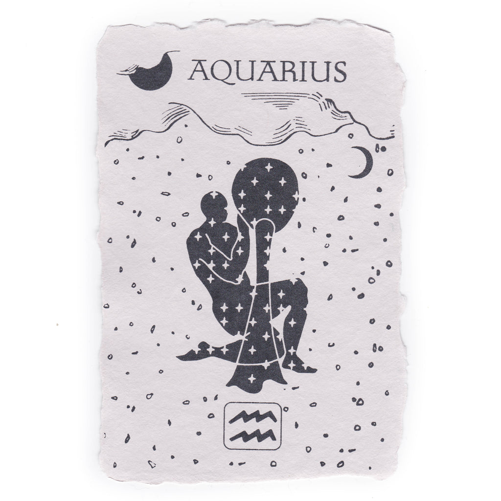 Aquarius Notecard