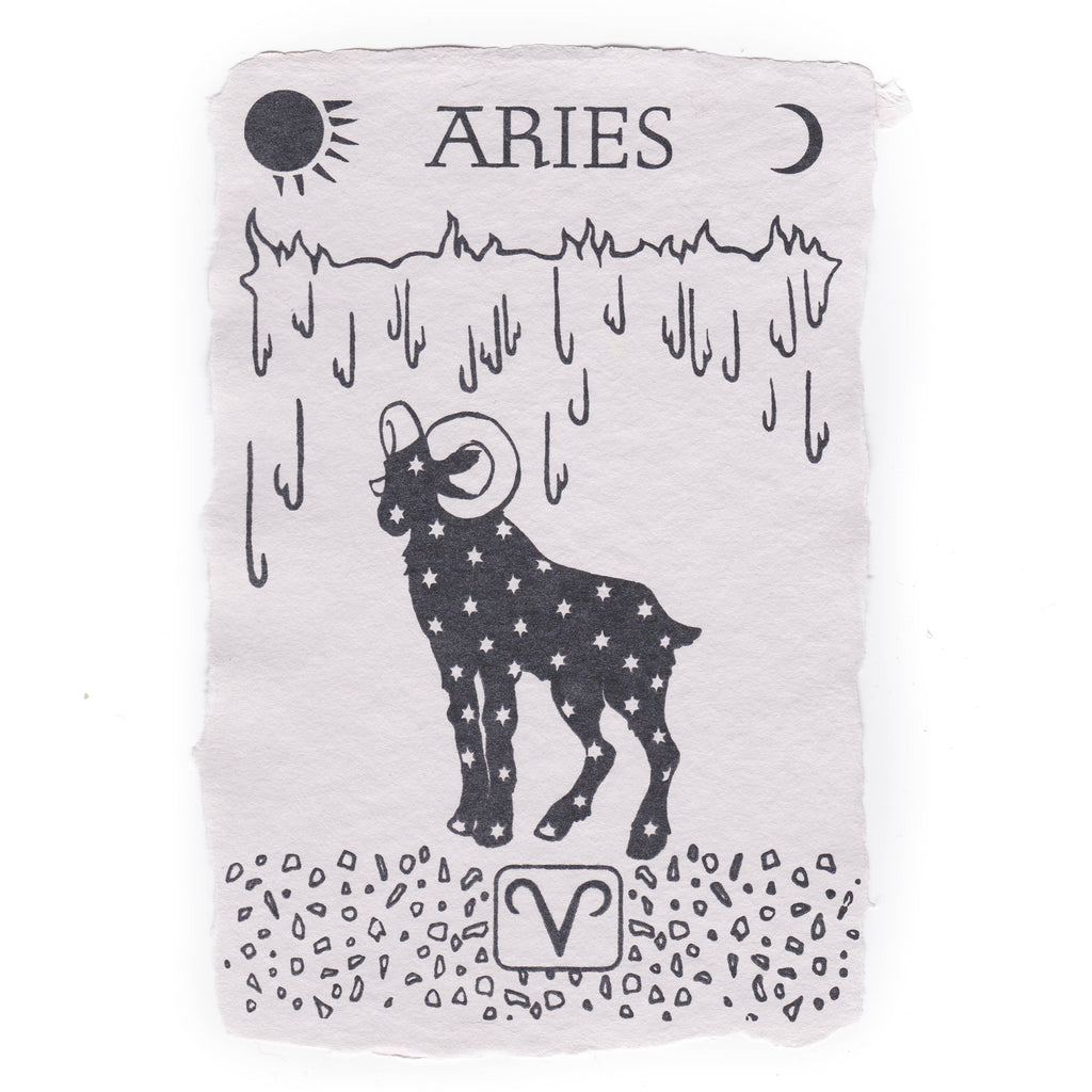 Aries Notecard