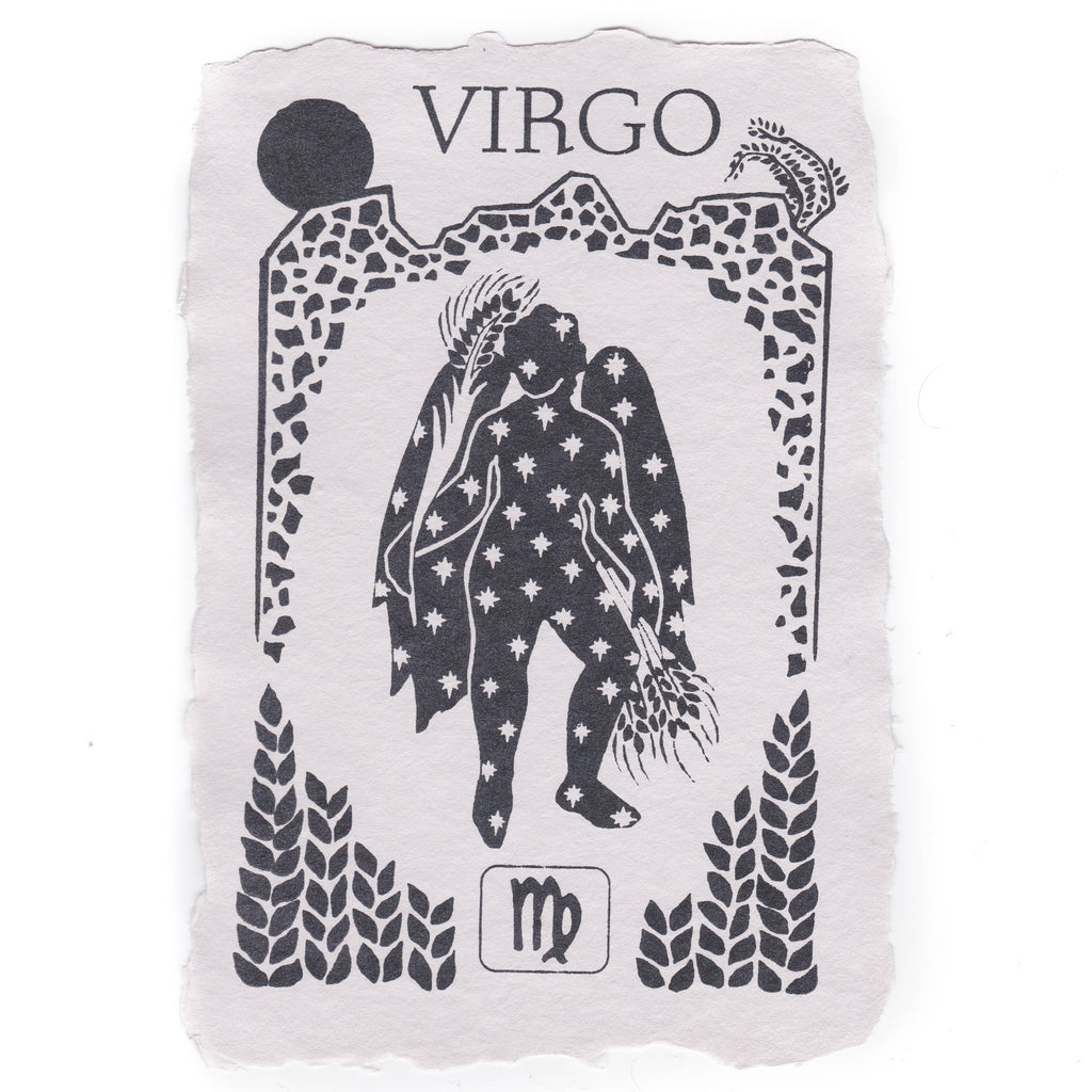 Virgo Notecard
