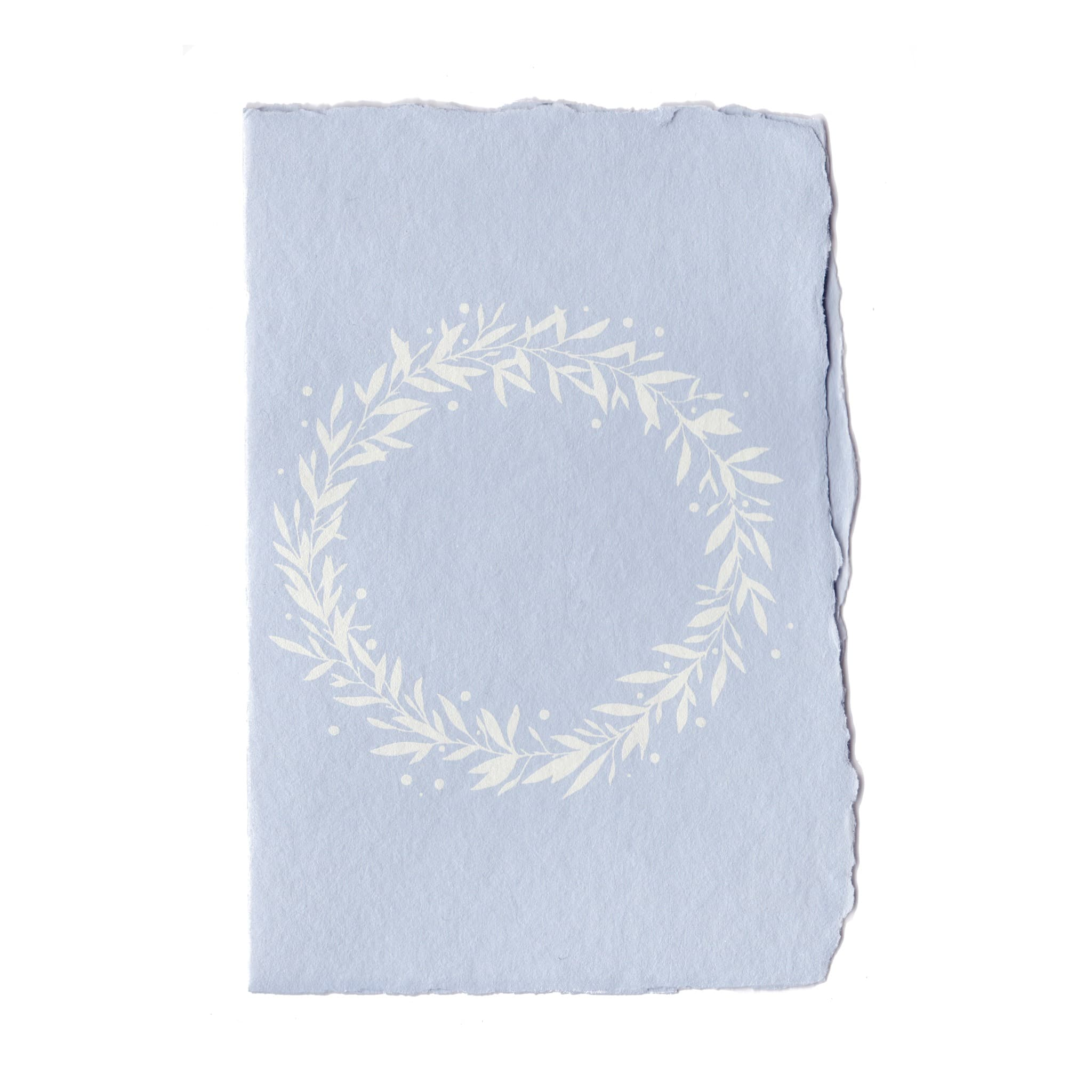 Eucalyptus Wreath Card