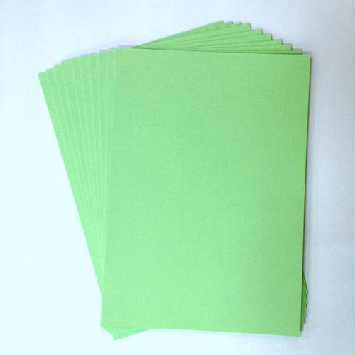 Artfull Cardstock - A5 Card Pack - Apple Green (10 sheets)